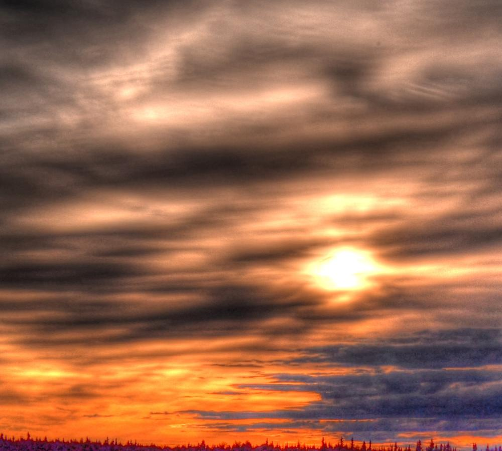 Photo in Nature #alaska #sunset #skyscape (coined word)