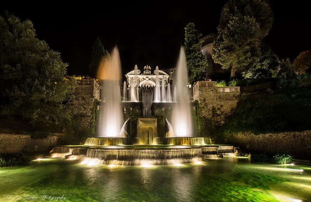 Photo in Architecture #fontana di nettuno - villa d'e