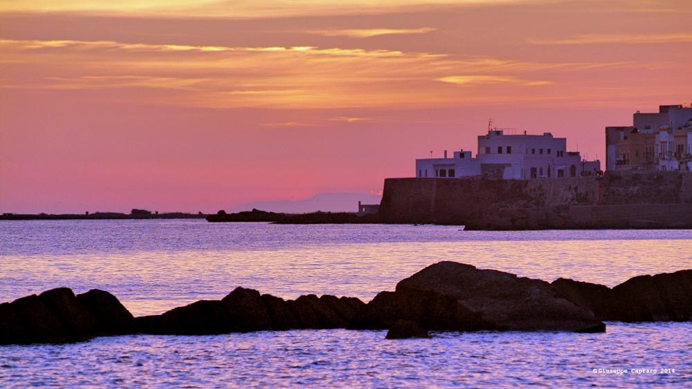 Photo in Landscape #sunset #mountains #landscape #colours #sea #summer