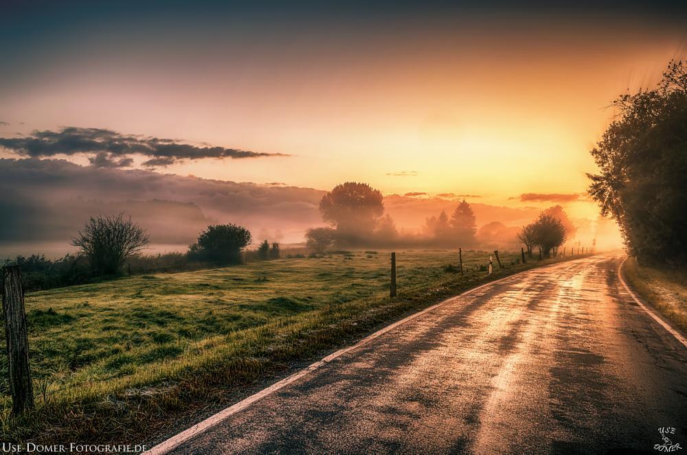 Photo in Landscape #sunset #morning #mood #landscape