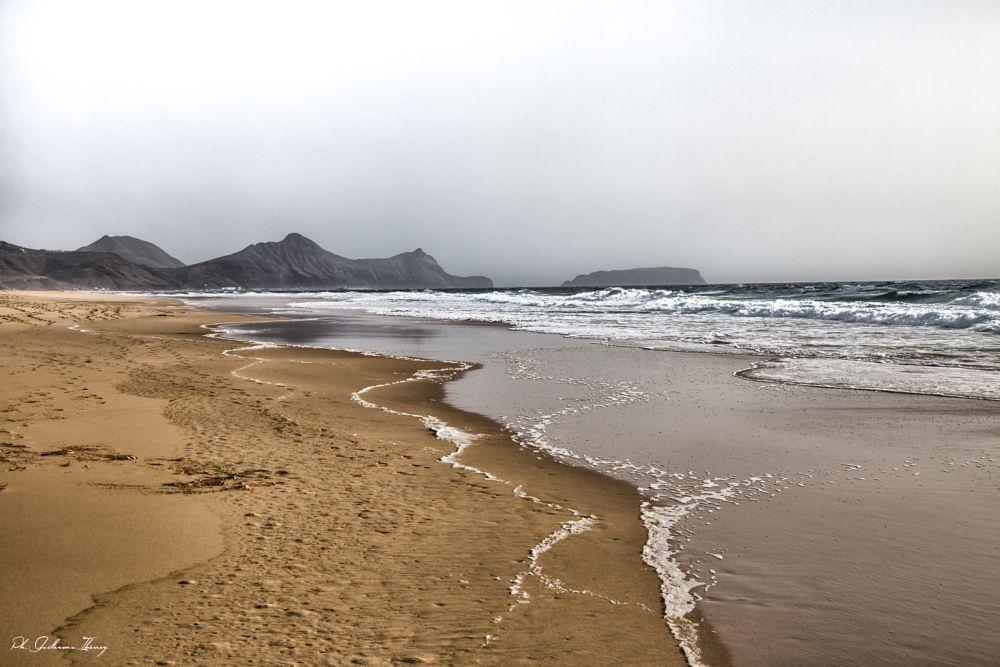 Photo in Landscape #porto santo #holidays #beach #seaside #arena #playa #ocean