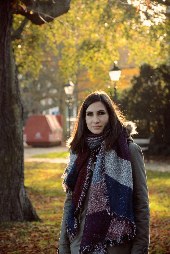 Photo in Random #portrait #nature #woman #people #autumn