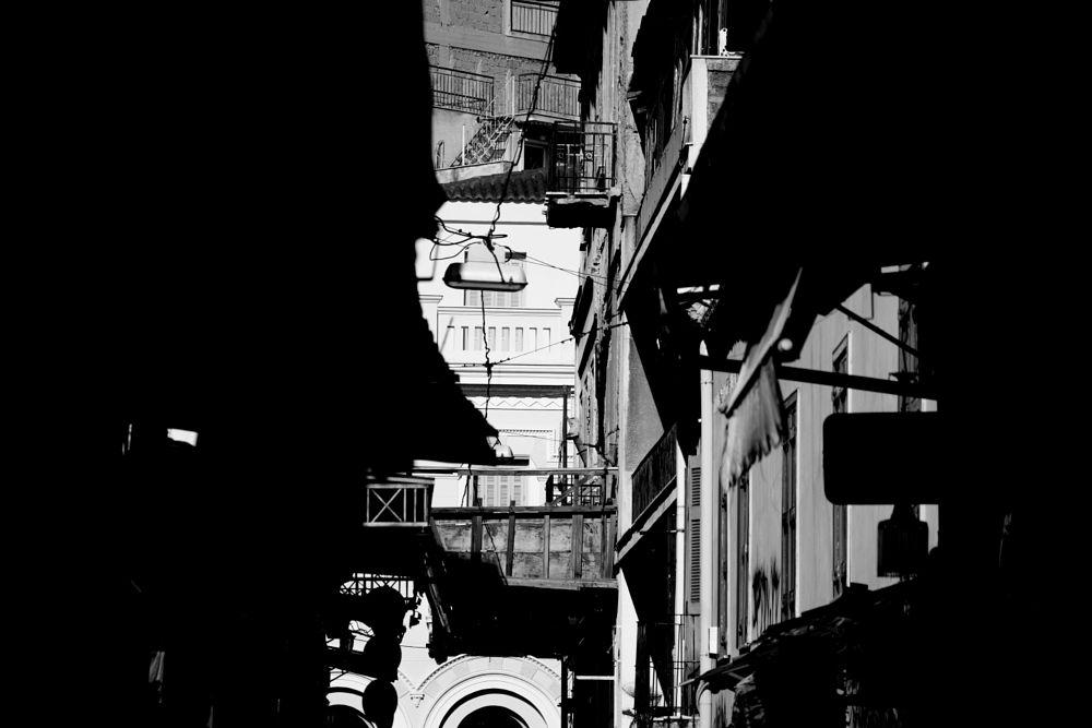 Photo in Black and White #black&white #monochrome #urban #buildings #athens