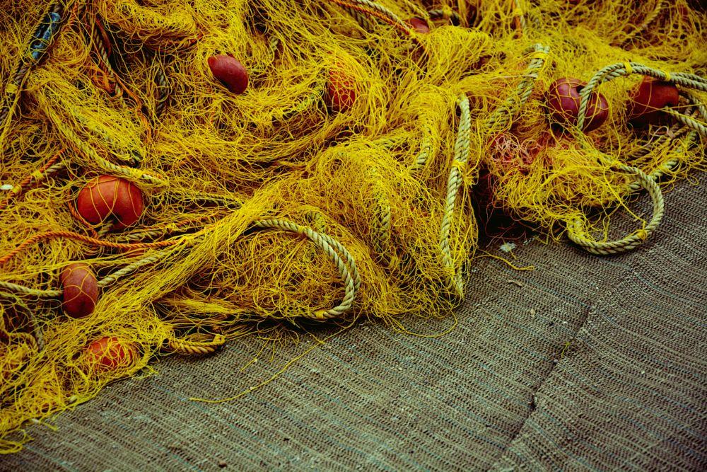 Photo in Urban #urban #yellow #net