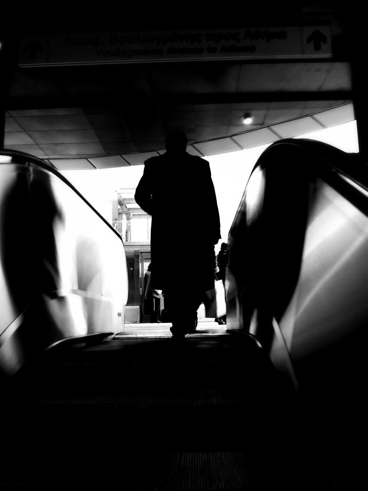 Photo in Street Photography #urban #street #metro #athens