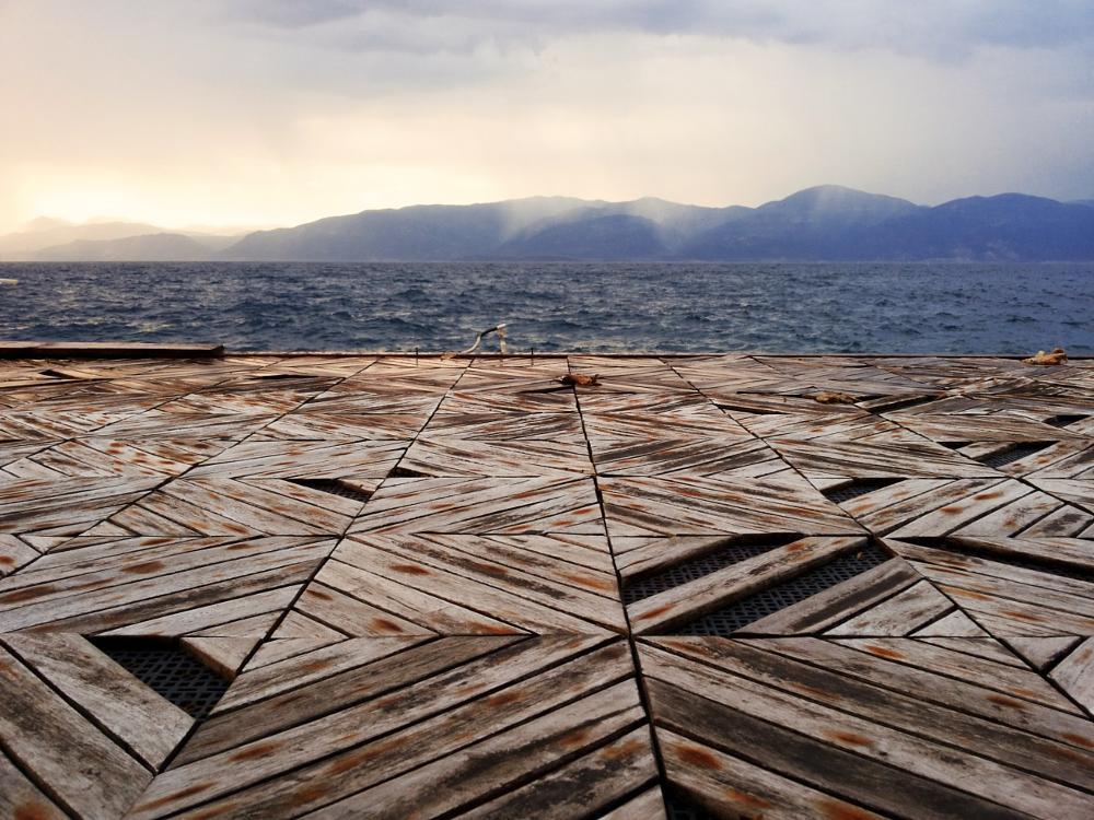 Photo in Landscape #sea #view #sky #clouds #aigio #greece