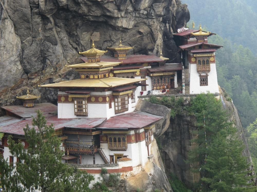 Photo in Architecture #taktsang #bhutan #monastery