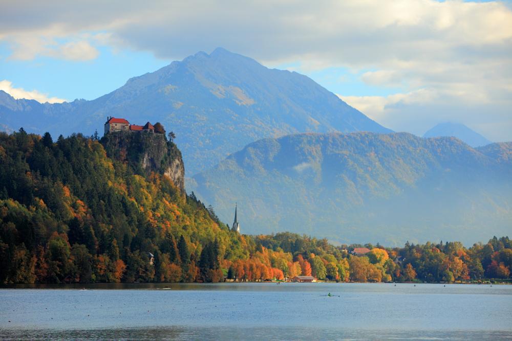 Photo in Landscape #slovenia #bled #lake bled #blejski grad