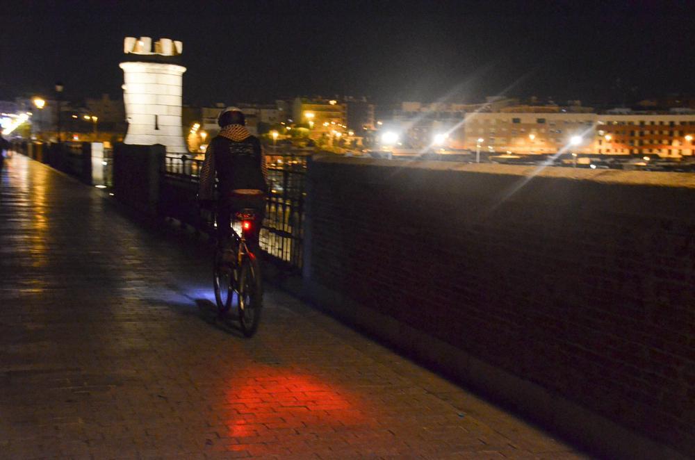 Photo in Street Photography #colors #bike #night #street #art street #style #nikon