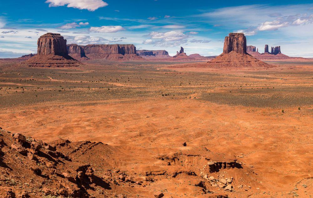 Photo in Landscape #monument valley #artist point #john wayne #john ford #movie #western #desert #arizona #navajo #reservation #utah