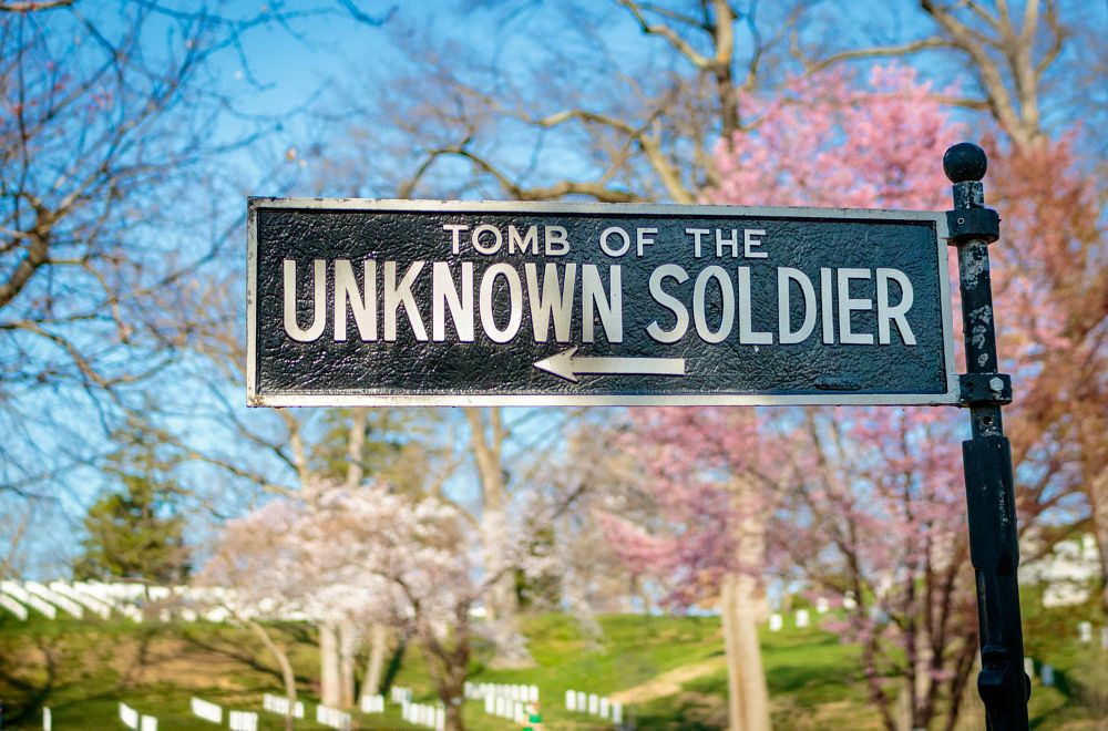 Photo in Landscape #unknown soldier #arlington cemetery #tomb #graves #cemetery #spiritual