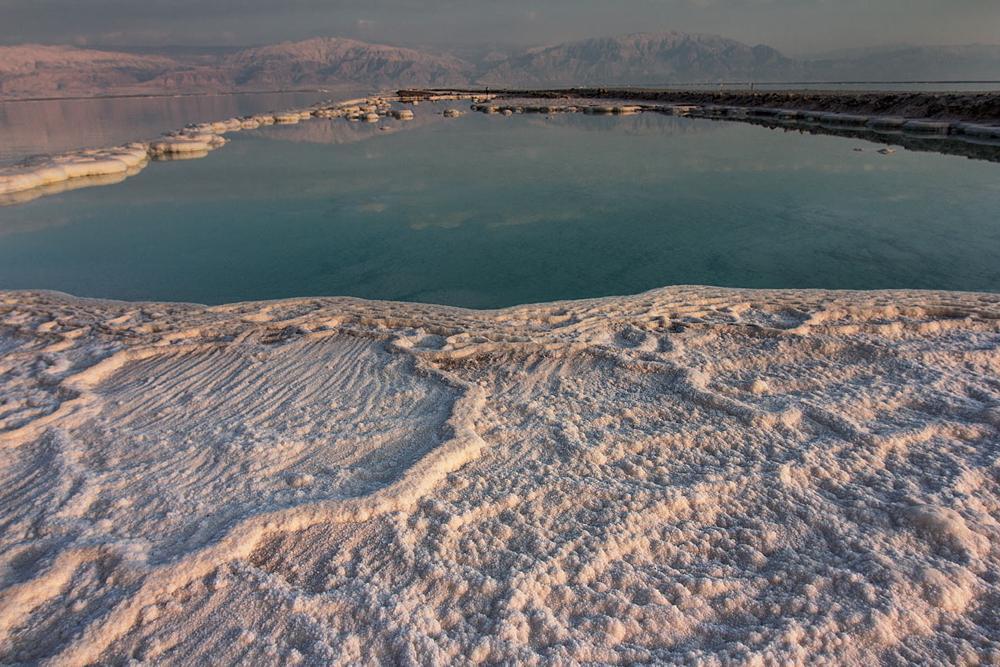 Photo in Landscape #dead sea #salt #israel #nature #sunset