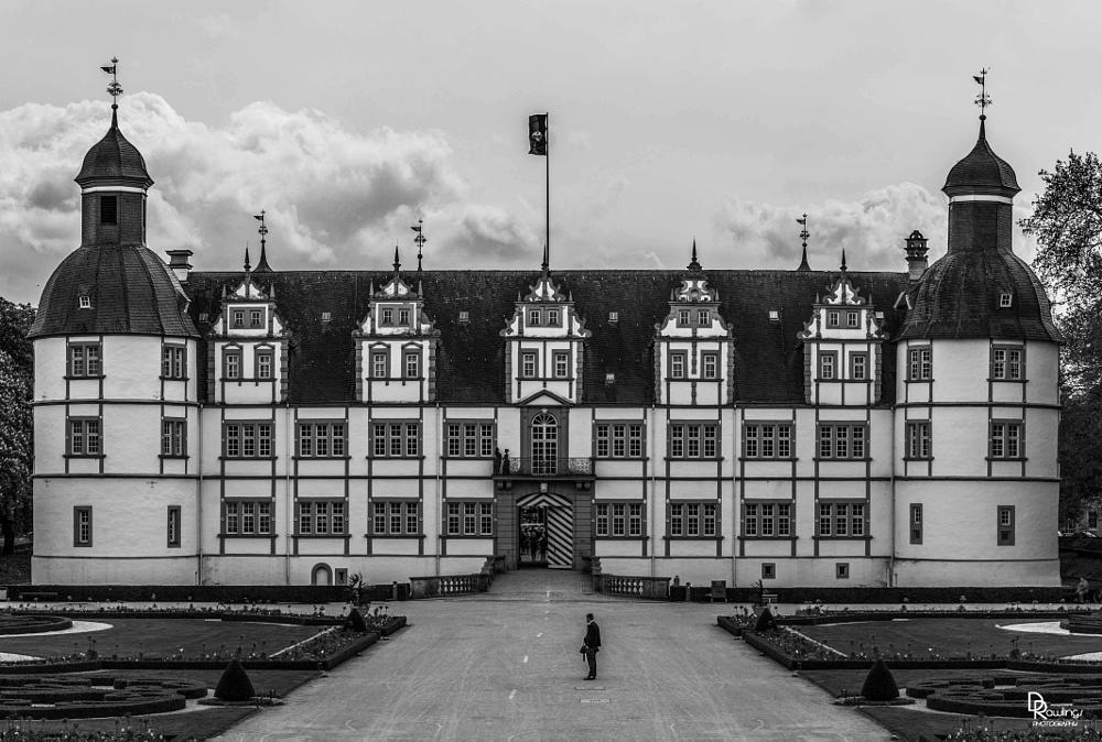 Photo in Black and White #black and white #castle #germany