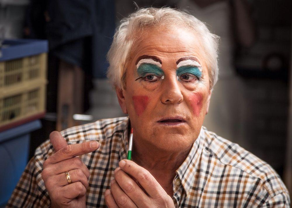 Photo in Random #dame #drag #portrait #pantomime #theatre #makeup #life #candid #man #culture