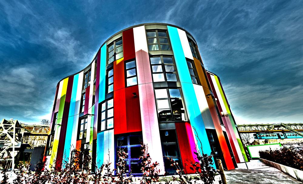 Photo in Architecture #junior uni #wuppertal #bildung #kunst