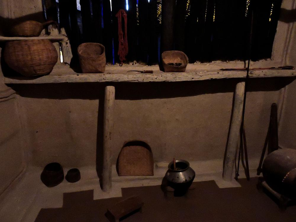 Photo in Interior #dipiction of a tribal hut and