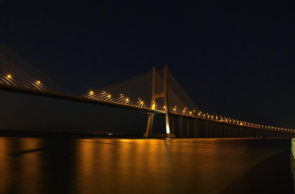 Photo in Architecture #portugal #bridge #vasco da gama #expo #parque das nações #tagus #lisbon #ypa2013
