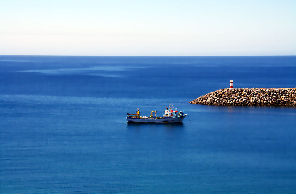 Photo in Random #portugal #sines #boat #ship #ocean #sea #beacon #ypa2013