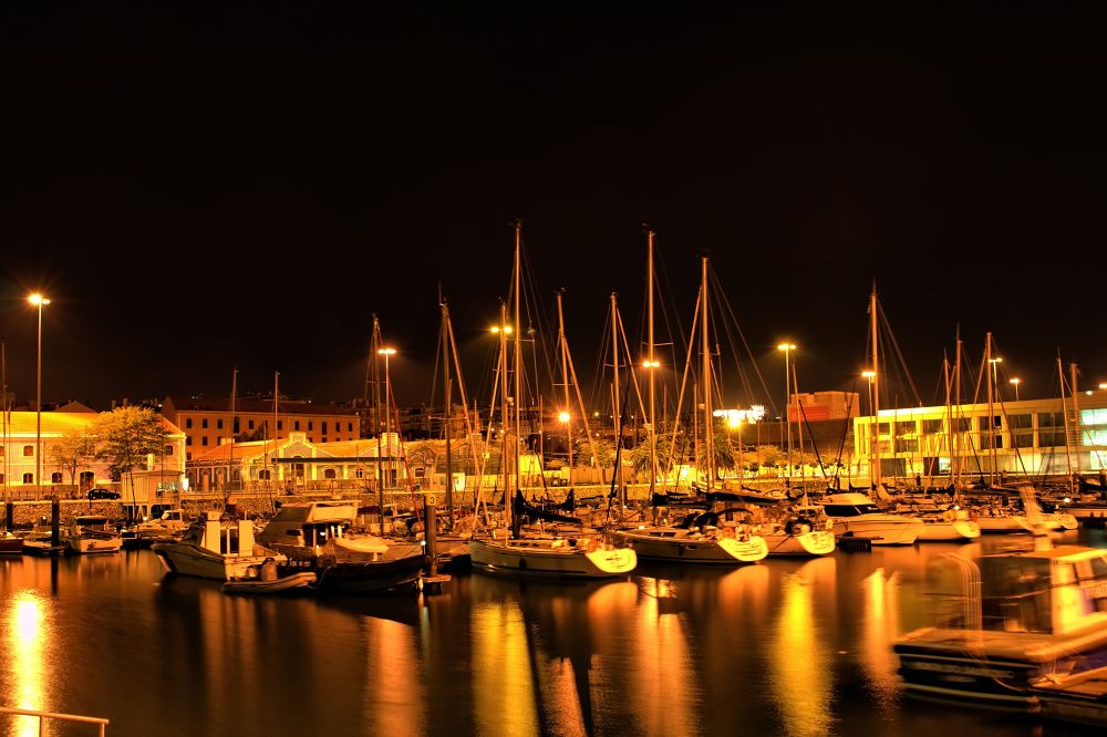 Photo in Random #portugal #lisbon #belem #marina #nightshot #boats #water #tagus #sailing #ypa2013