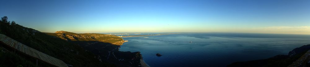 Photo in Landscape #portugal #setubal #arrabida #beach #sand #ocean #mountain