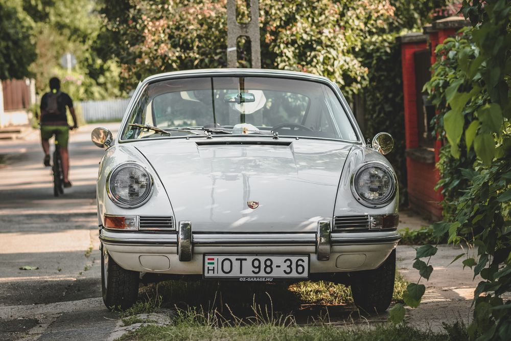 Photo in Street Photography #car #old #oldcar #porsche #911 #veteran #nice #white #street #photo #hungary #veterancar #oldtimer