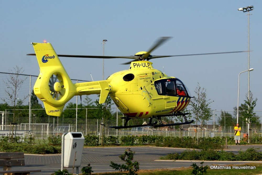 Photo in Vehicle #medical air asistance #fly #air #aviation #eurocopter #ec135