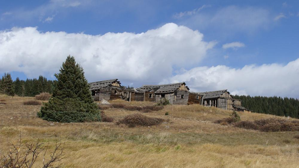 Photo in Landscape #ghost town #mountains #cool
