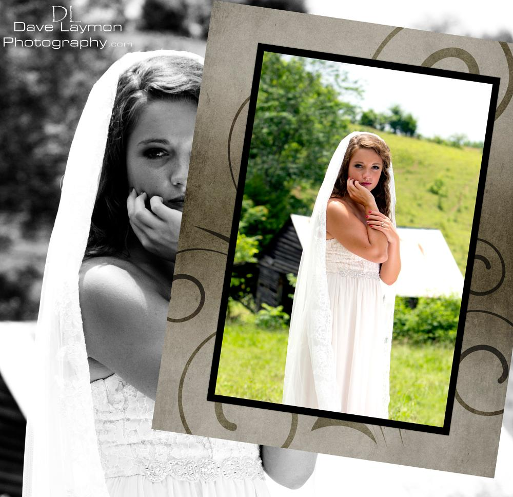 Photo in Portrait #bride #composite #east tennessee