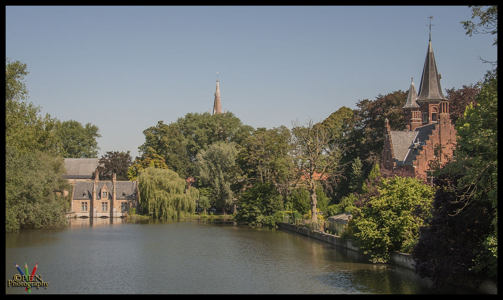 Photo in Cityscape #belgium #flanders #bruges #brugge #minnewater #tourist #2013 #ypa2013