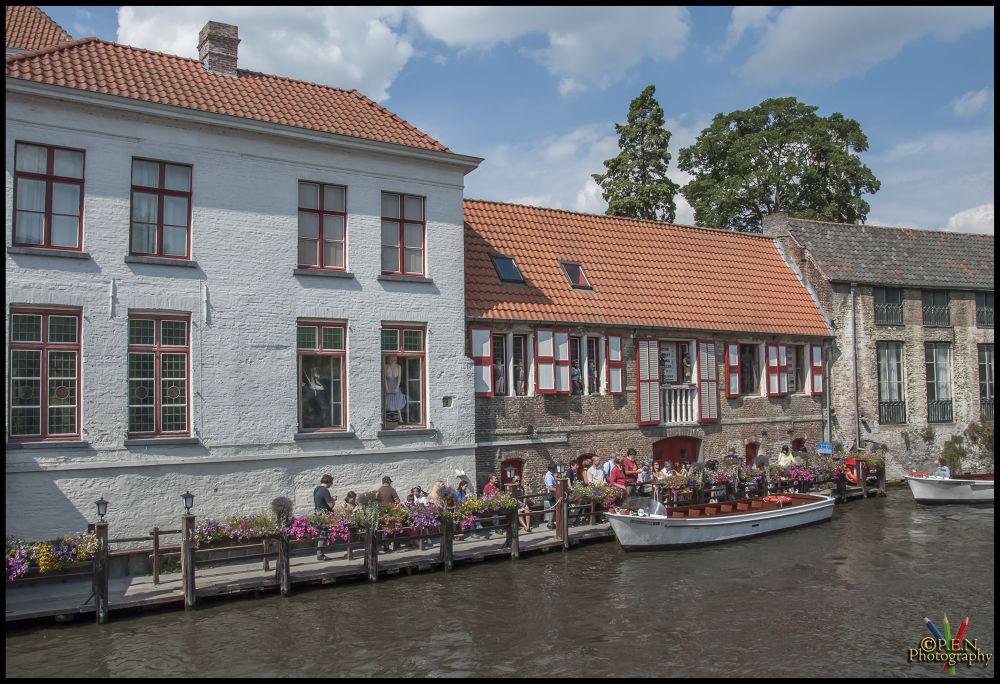 Photo in Cityscape #belgium #flanders #brugge #ship #city #tour #bruges #2013 #ypa2013 #tourist