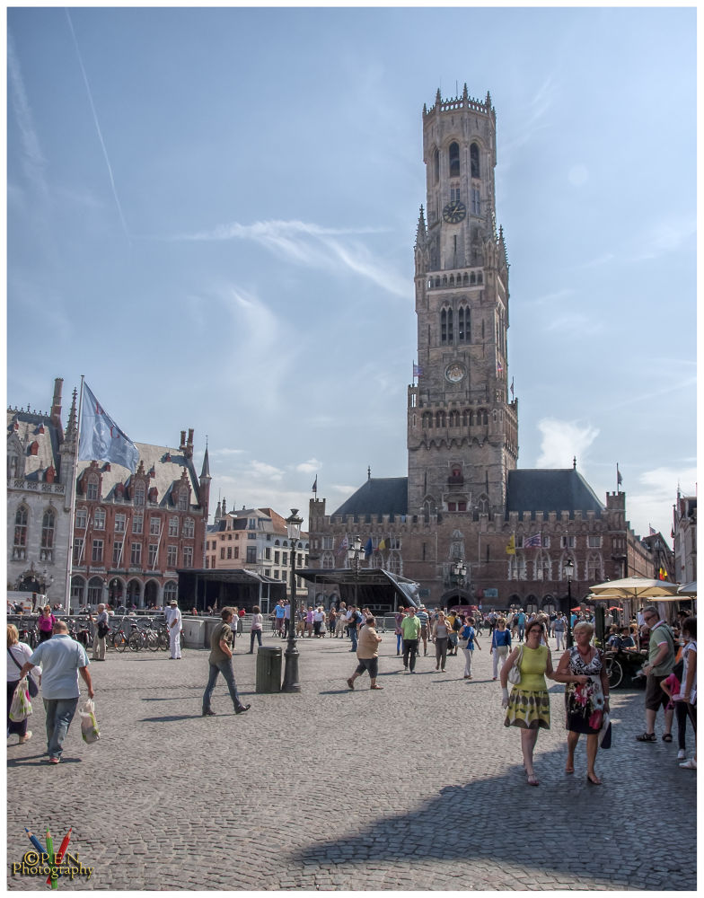 Photo in Cityscape #belgium #flanders #bruges #brugge #tourist #belfort #marketplace #2013 #ypa2013