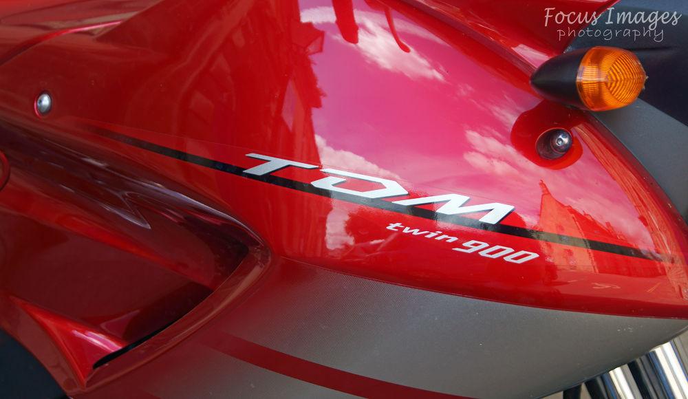 Photo in Vehicle #bike #motor #red