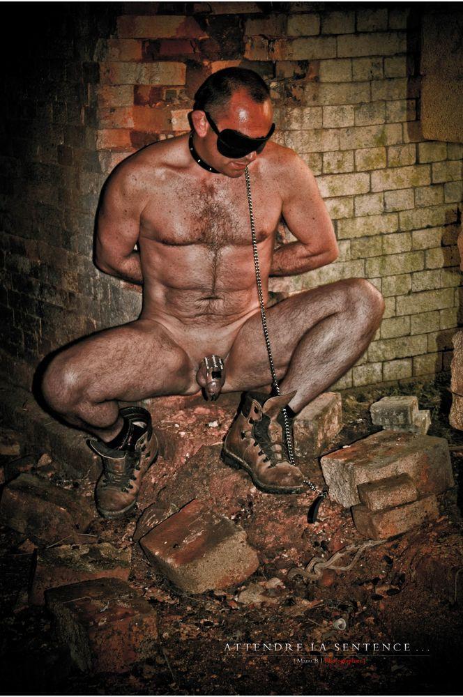 Photo in Nude #bdsm #chastity cage #cage chasteté #slave #esclave #autoportrait #selfportrait #nude male #nude man #urbex #nurbex