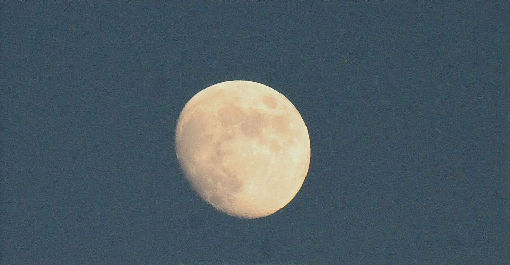 Photo in Astrophotography #moon #sky #new york