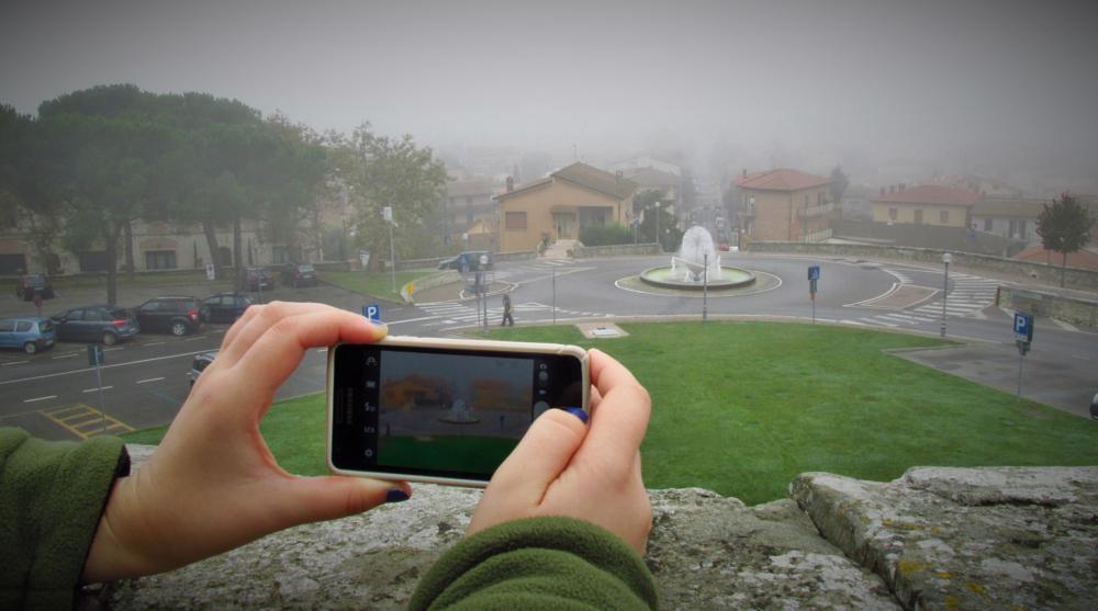 Photo in Urban #fountain #street #urban #city #italy #umbria