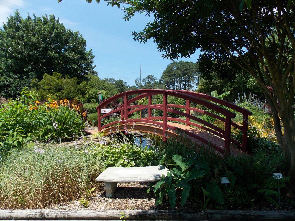 Photo in Landscape #garden #bridge