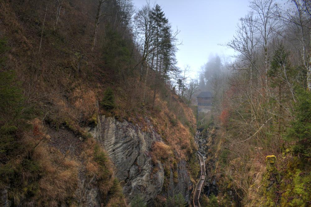 Photo in Landscape #landscape #nature #gorge #klamm #sigmund-thun #kaprun #salzburg #austria #path #track #forests #trees #mountains