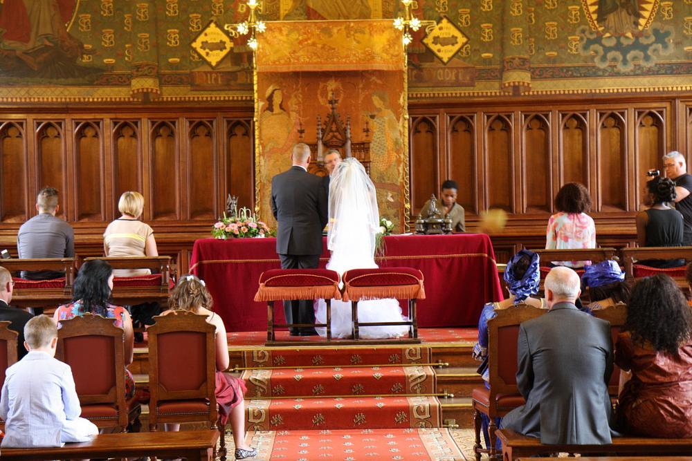 Photo in Wedding #wedding brussels town hall