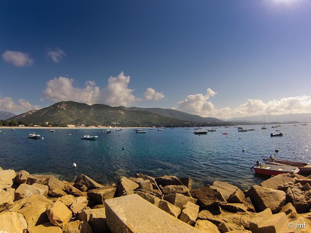 Photo in Landscape #port #sagone #corse #cosica #sea #boat #mountain #gopro #landscape