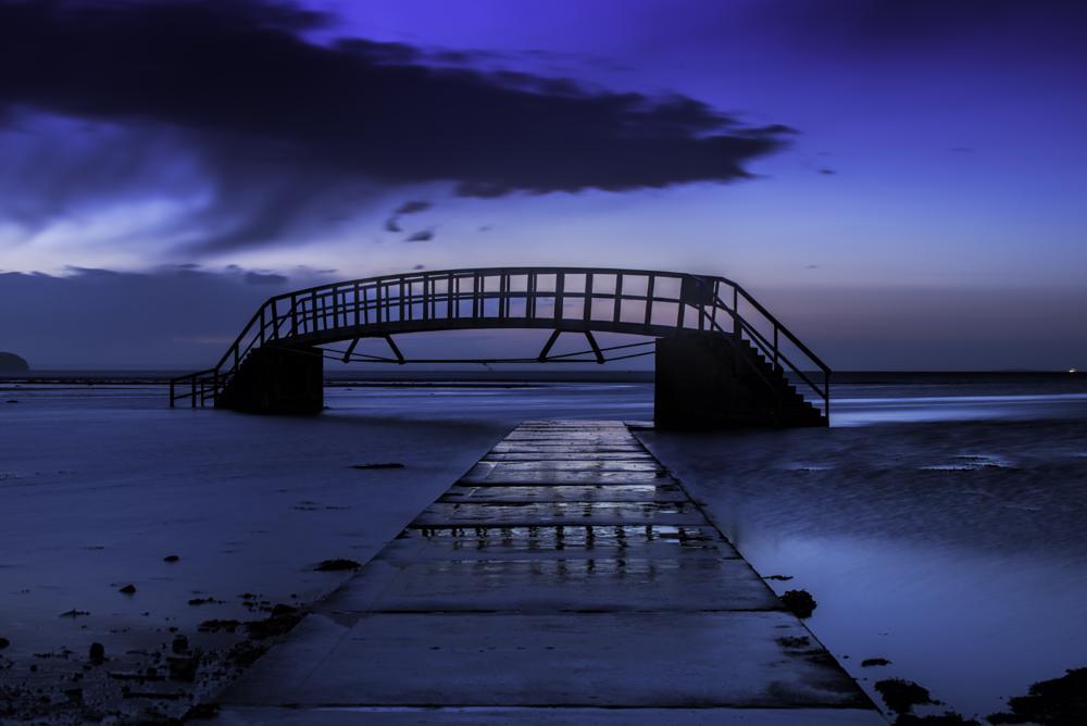 Photo in Sea and Sand #bridge #dunbar #scotland