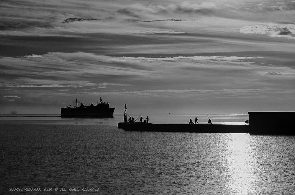 Photo in Random #canon #sea #boat #people