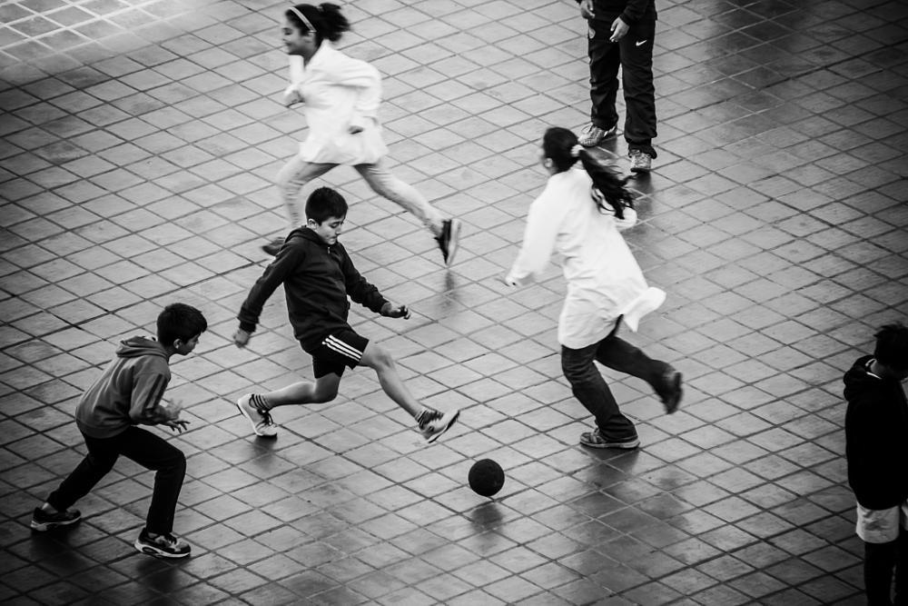 Photo in Street Photography #recess #recreo #school #escuela #soccer #fútbol #street #calle #buenos aires #argentina