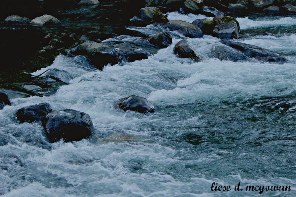 Photo in Nature #river #rocks #winter