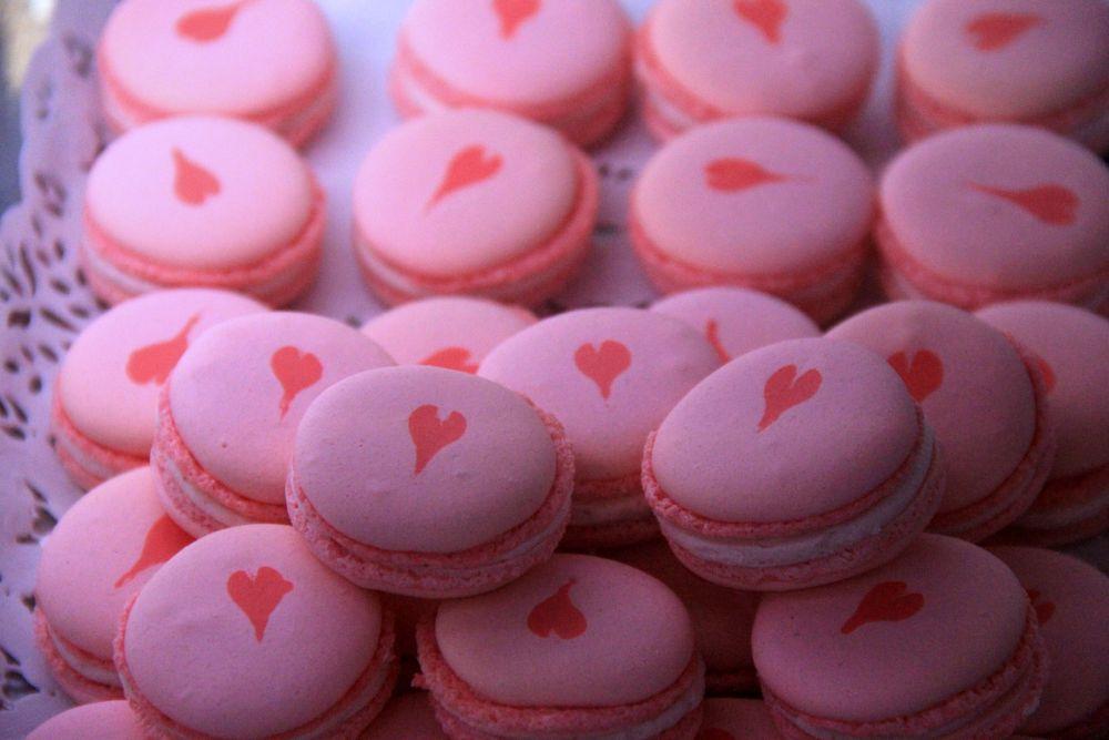 Photo in Food #macaroons #sweet #bakery #recipe #sweetheart