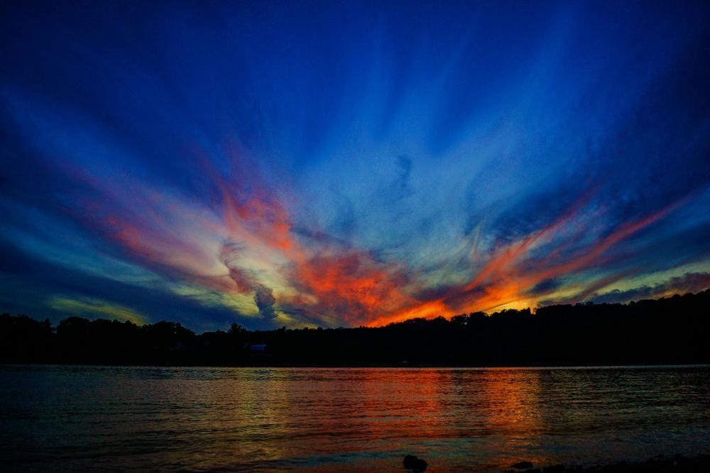 Photo in Landscape #colorful #sky #sunset #clouds