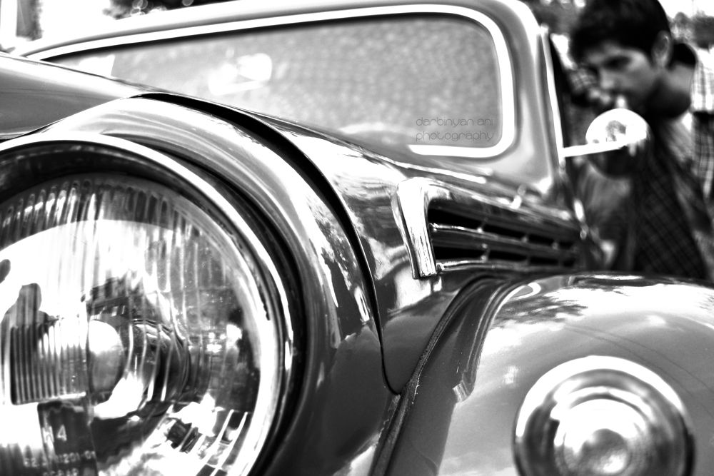 Photo in Random #old cars #street photo #black and white