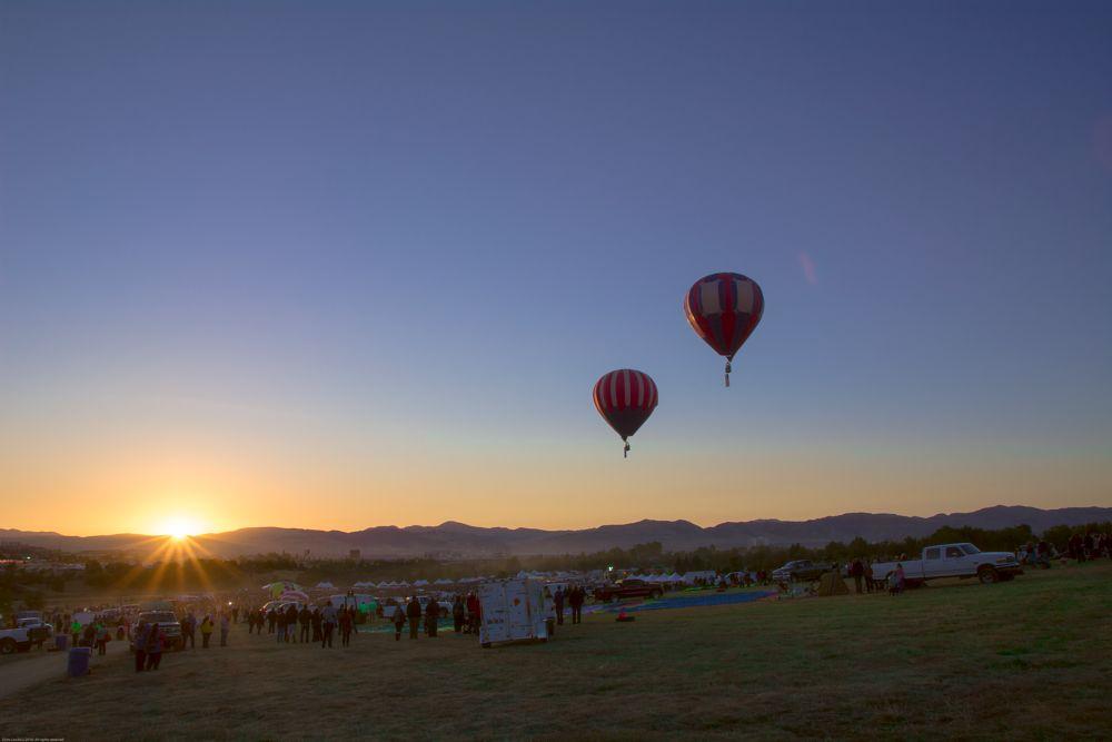 Photo in Landscape #ballons #hot air ballons #sunrise