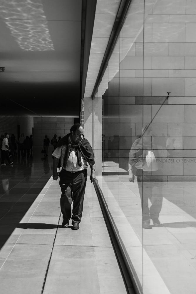 Photo in People #man #lines #sanctuary #spring #people #fátima #bw #ohrbinah