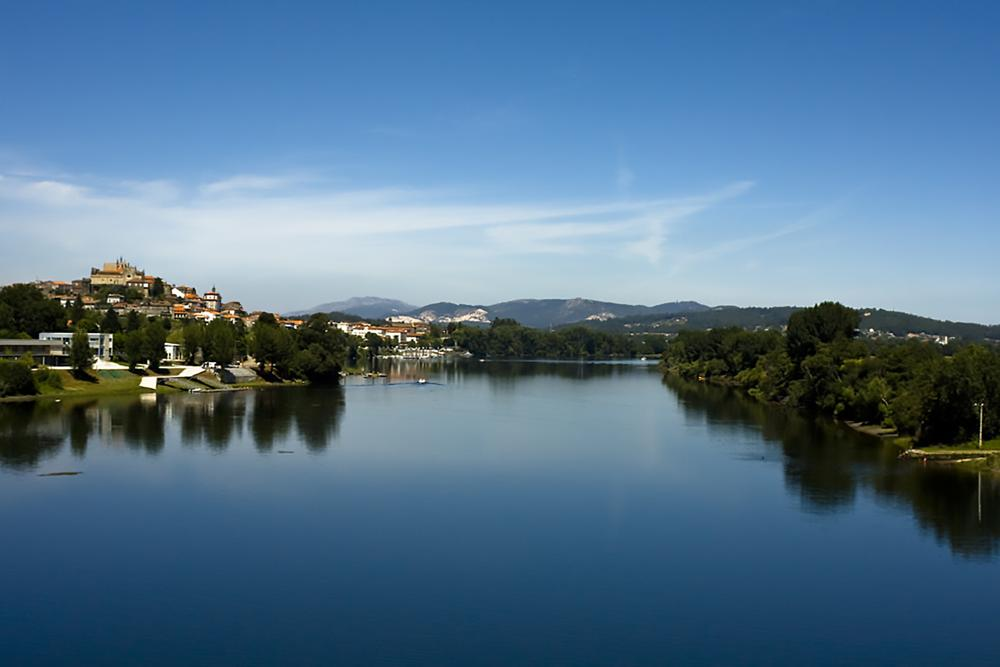 Photo in Landscape #landscape #river #borderland #portugal #galicia #spain #rio #minho #mino #nature