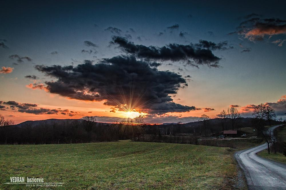 Photo in Landscape #slunj #sunrise #croatia #landscape